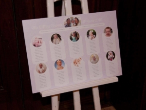 Samantha and Ryan - Bespoke table plan by Nikki Swift Designs. Photography: http://www.chris-webb.co.uk